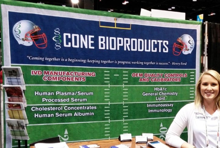 Backdrop Display at Trade Show Event | Custom Printed Fabrics | Trade Show Displays & Promotional Products | Austin, Texas Printing | Giant Printing